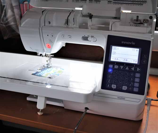 The NQ900 sewing machine from Brother.