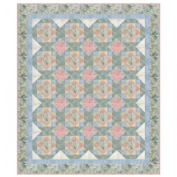 Castaway Cove by Linda J. Hahn using Banyan Batiks, Island Vibes fabrics