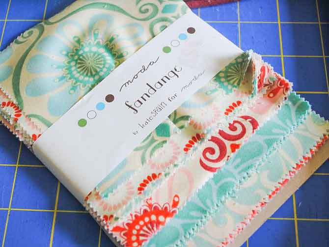 """Charm pack of 5"""" squares"""