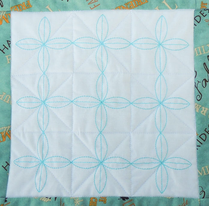 Quilted tabletopper
