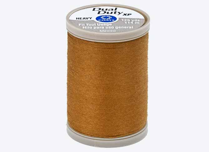 a spool of Coats Dual Duty XP Heavy Thread