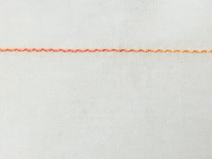 Poor tension and shredding thread - needle eye too small and wrong shape