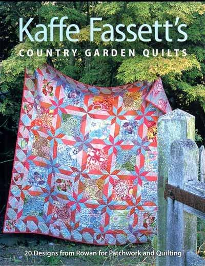 QUILTsocial Giveaway 094: Kaffe Fassett's Country Garden Quilts