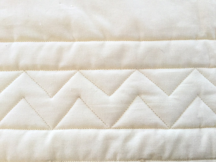Create beautiful quilted borders with a few simple steps.