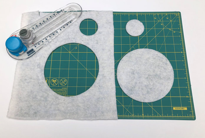Cutting perfect circles with Olfa and TrueCut Circle Cutters