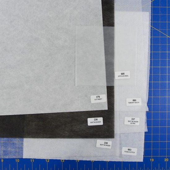 Cut-away stabilizer samples