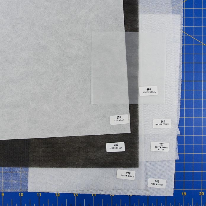 Cut-away stabilizer samples
