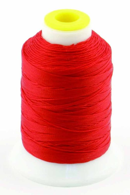 200yd spool of Coats Outdoor Thread in bright orange to make cube cushion for your patio
