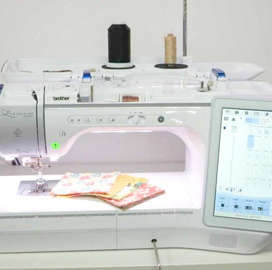 The New Brother The Luminaire XP1 Sewing, Embroidery and Quilting Machine