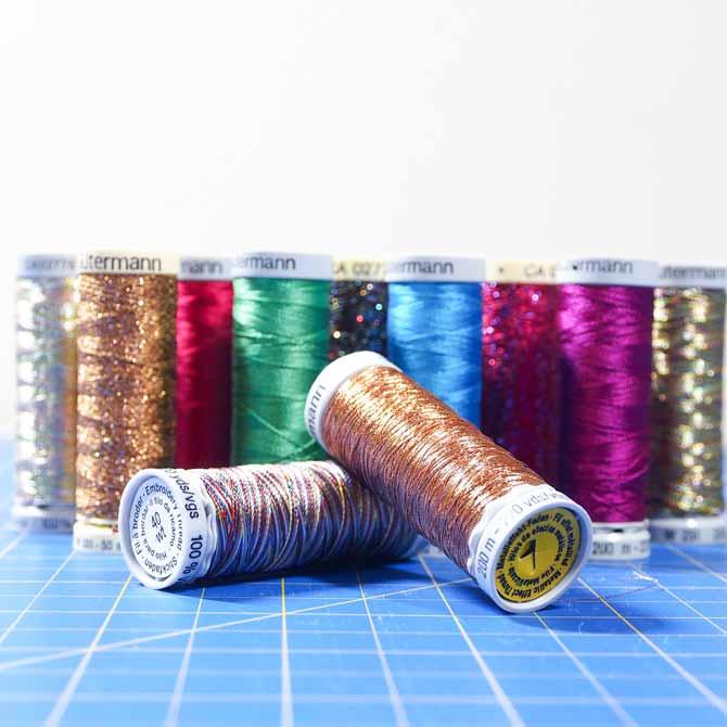 Gütermann decorative threads