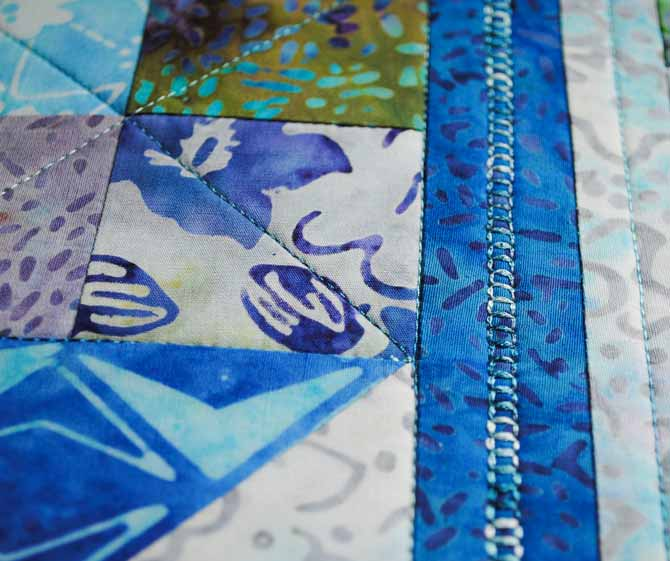 Decorative quilting stitches