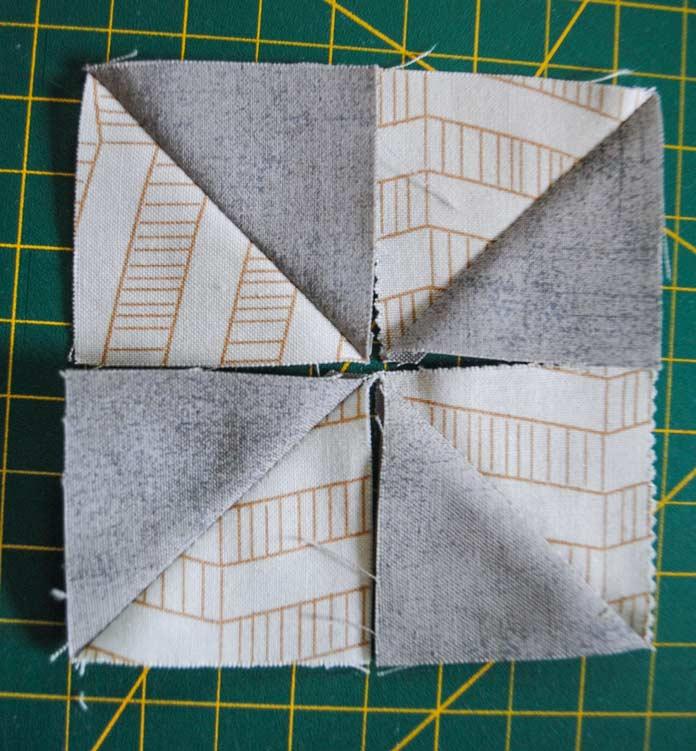 Pinwheel setting
