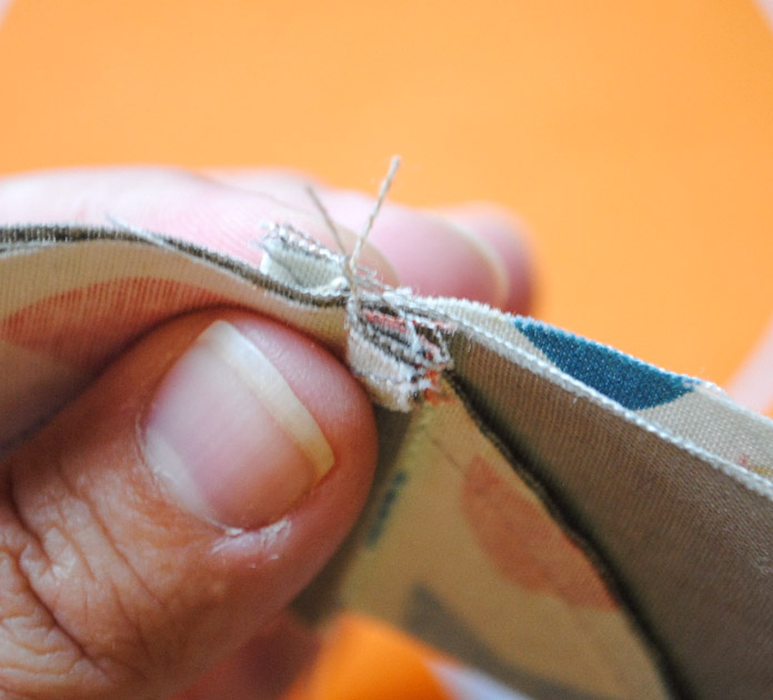 Butting the seams