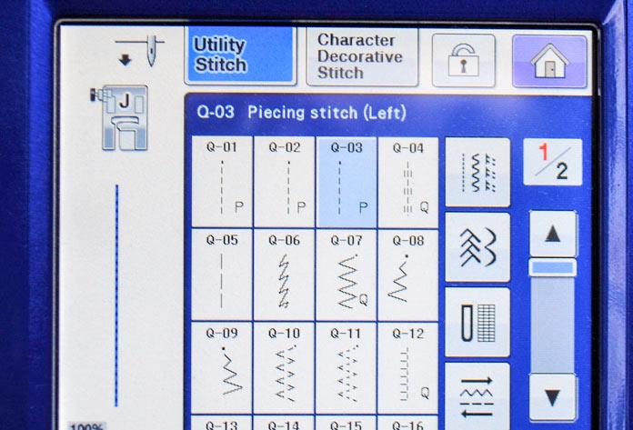 Select stitch Q-03