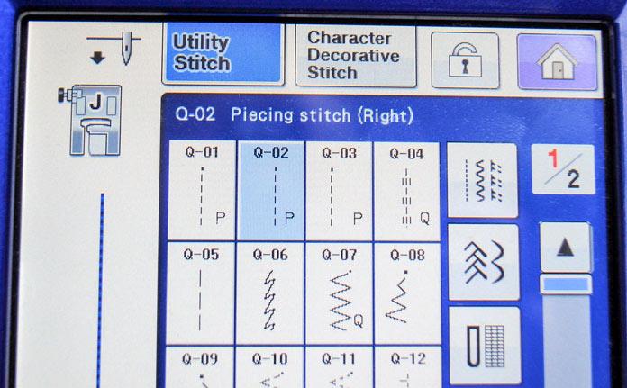 Select Q-02 stitch