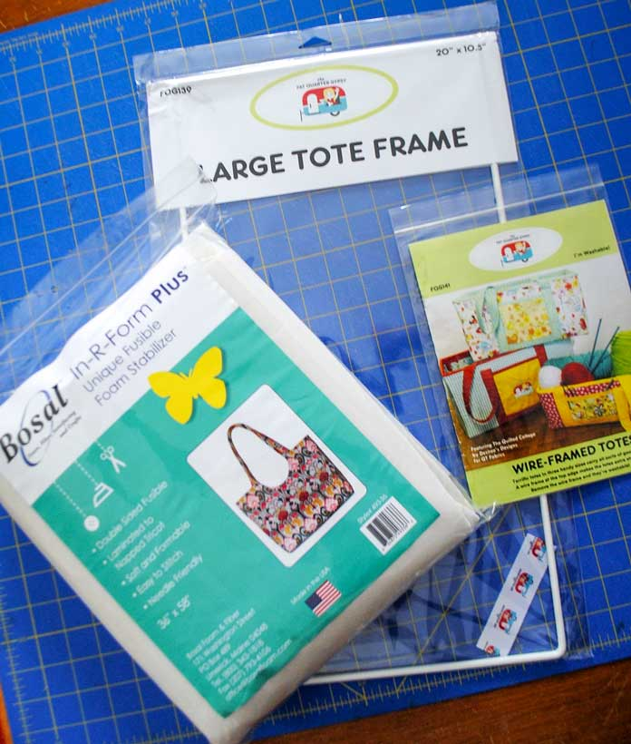 Tote bag supplies and pattern