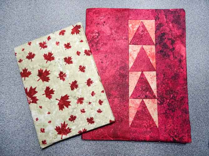 Finished book covers