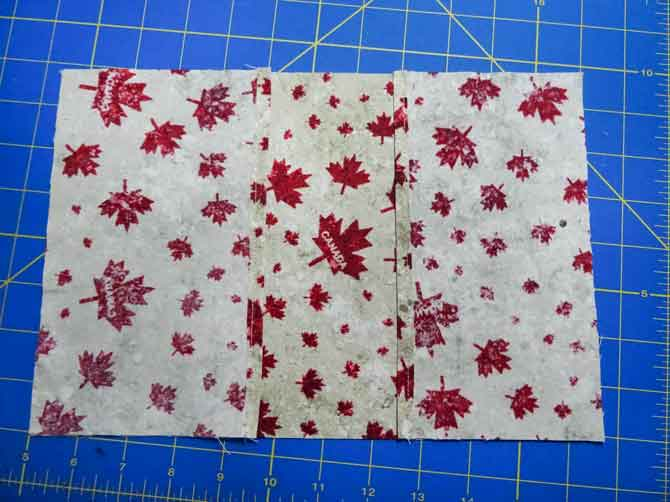 The easiest way to sew up a fabric book cover