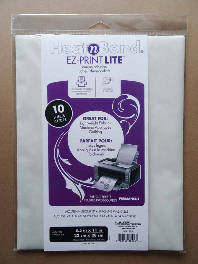 "HEATnBOND Lite Iron-On Adhesive Sheets -17"" x 1yd"