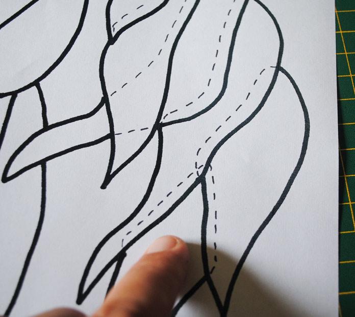 Adding overlap lines