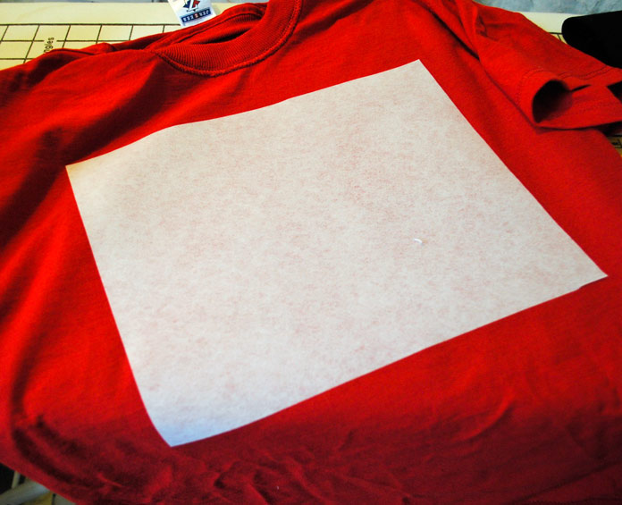 How to successfully machine embroider on a t shirt in no