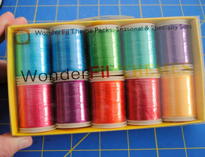 WonderFil thread pack, Retro