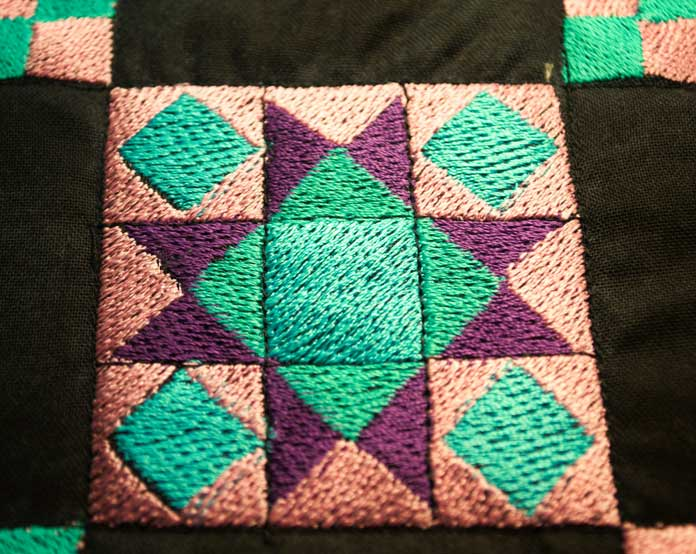 "Quilting through the ""blocks"""