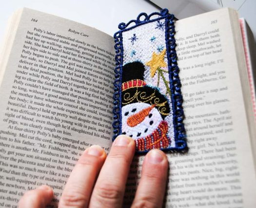 The finished bookmark