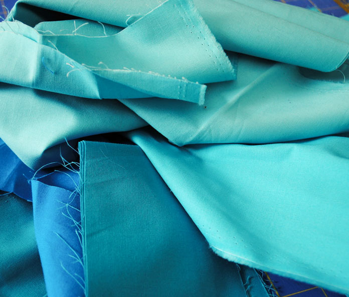 Blue ColorWorks solid fabrics