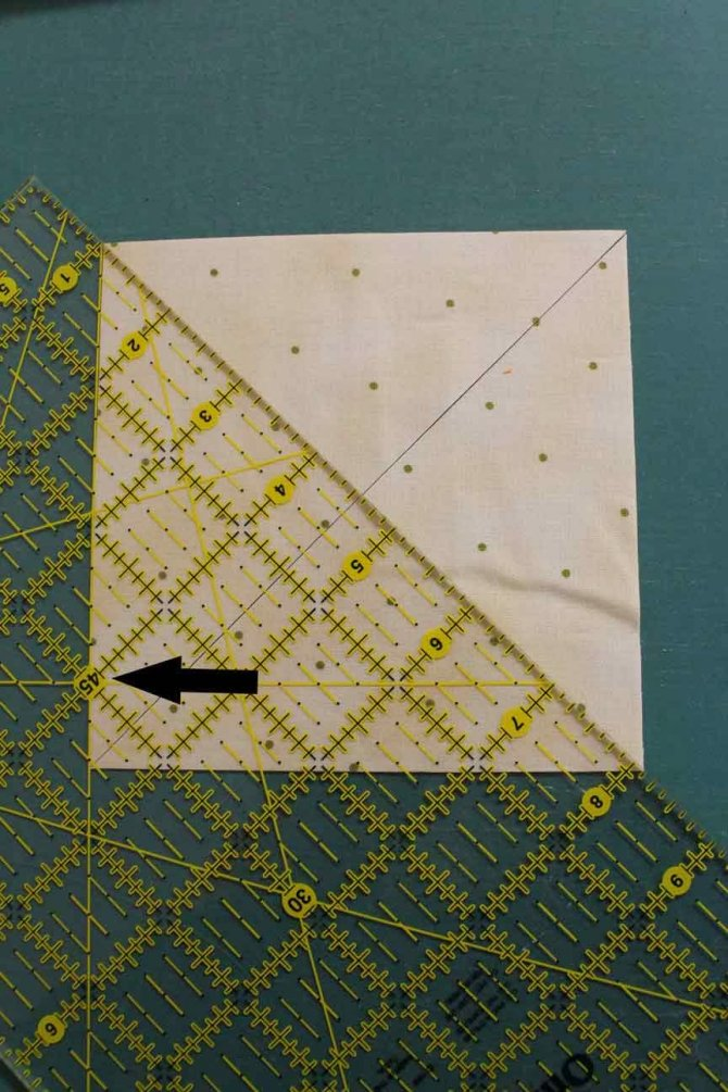 Making an eight-pointed star