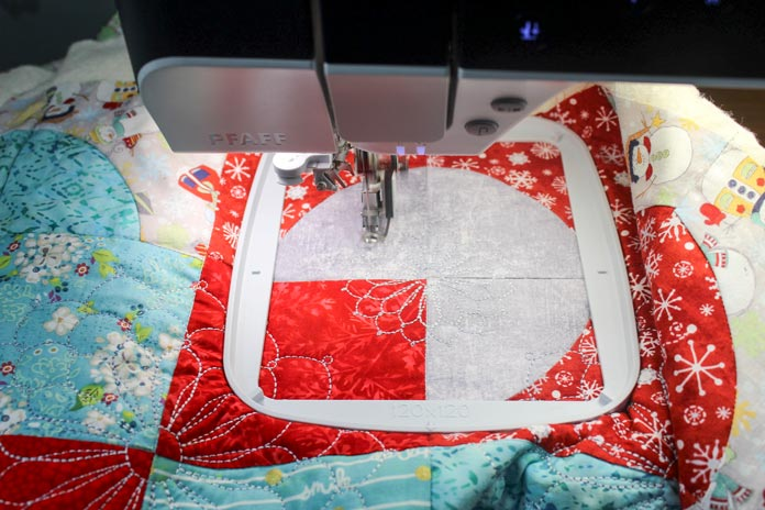 Embroidering with the PFAFF creative icon