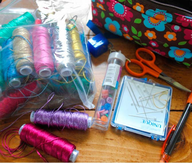 Embroidery supplies to go with WonderFil threads