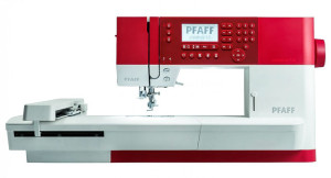 The new PFAFF Creative 1.5 Sewing and Embroidery machine.