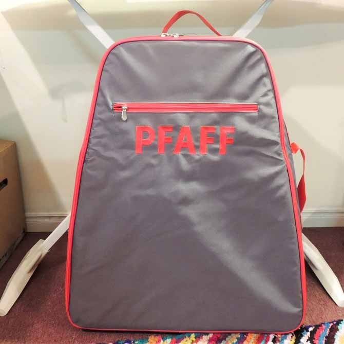 The embroidery unit bag