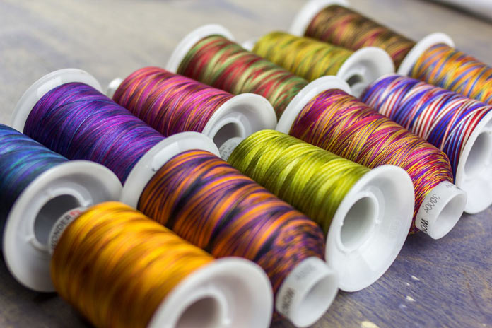 I never get tired of looking at Fabulux thread, you?