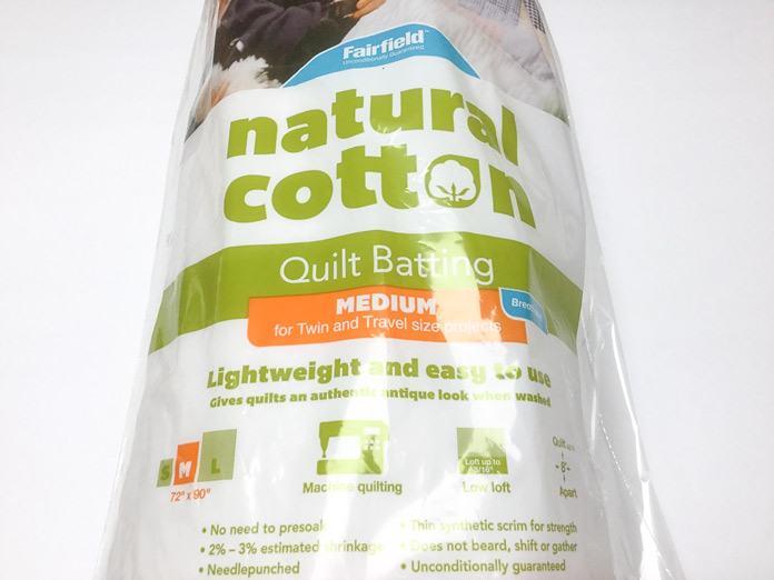Fairfield Soft & Toasty natural cotton batting will give the thread painted and quilted panel just the look we want; a tutorial on thread painting.