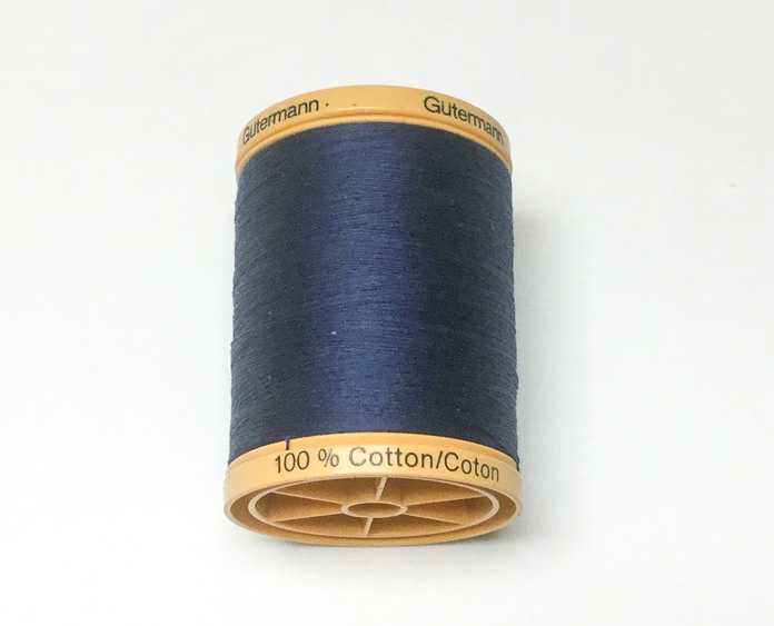 Gütermann 50 weight cotton thread is ideal for both piecing and machine quilting; a tutorial on thread painting