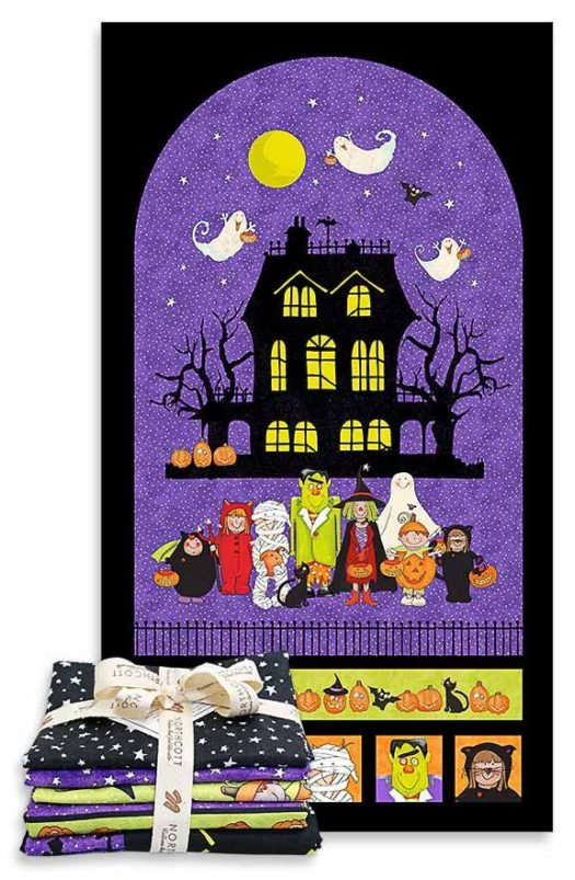 QUILTsocial Giveaway 115: Northcott Happy Halloween Fabric Bundle