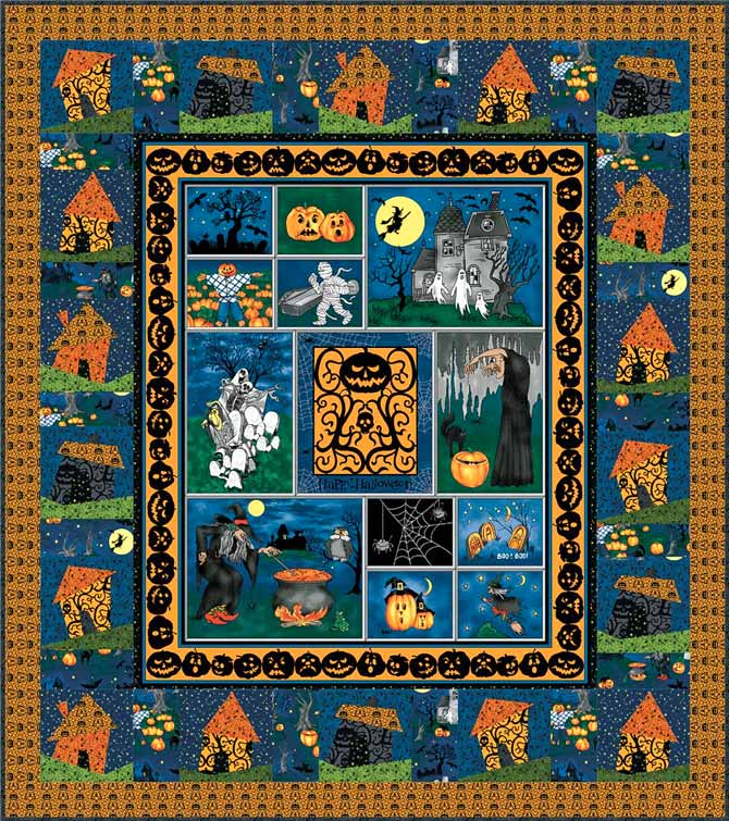 Haunted Houses pattern by Jean Boyd