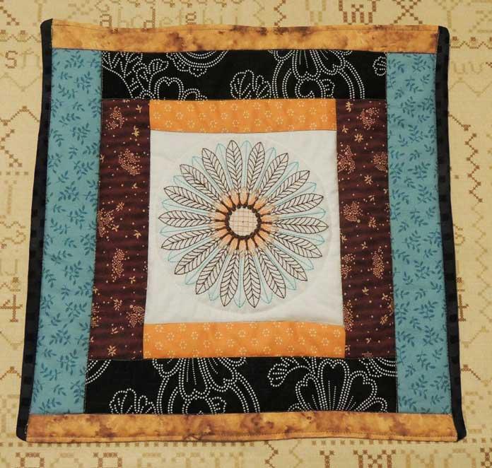 Hospice block quilt