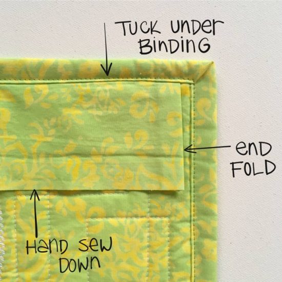 Some tips on how to add your hanging sleeve