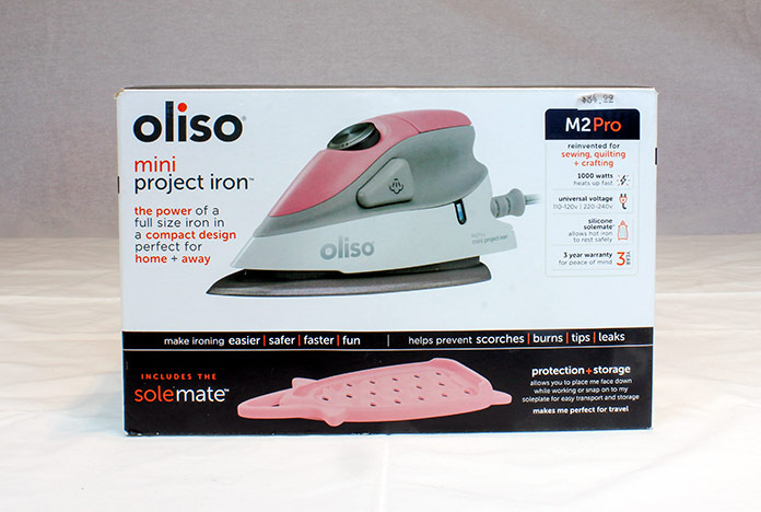 Packaging for the OlisoM2Pro Mini Project Iron