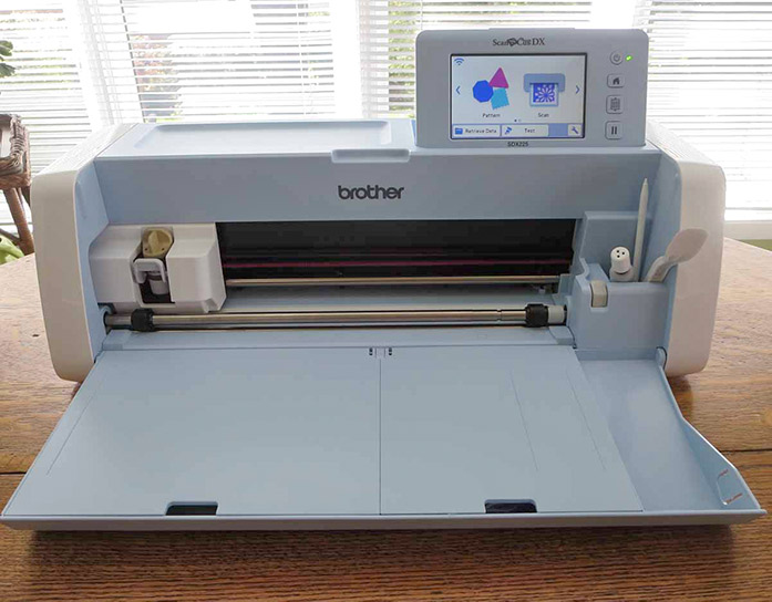 Brother ScanNCut SDX225, Canvas Workspace, Brother stencil sheets