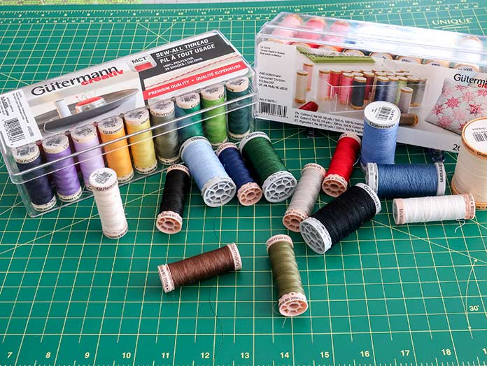 Gütermann threads for all your quilting projects