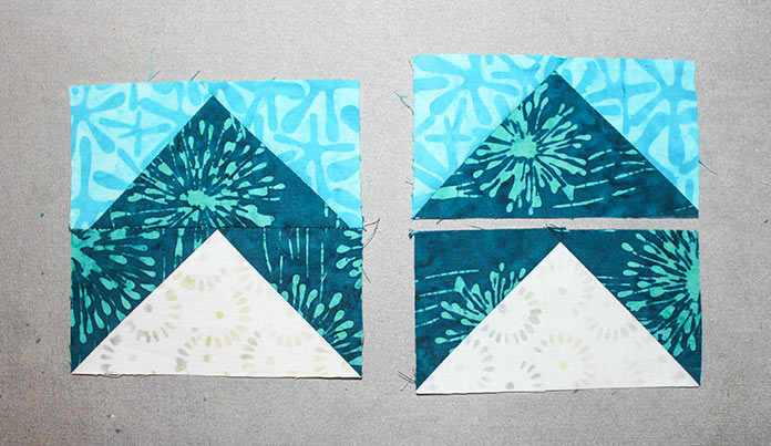 Step 6 - Instructions for Spectrum QAL 2020 Block 2 featuring The Little Girl in the Blue Armchair collection by Anthology Fabrics.