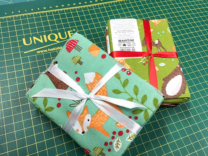 Fabric Creations 100% cotton comes in a variety of prints and colors. They have a wide assortment of different fat quarter bundles.