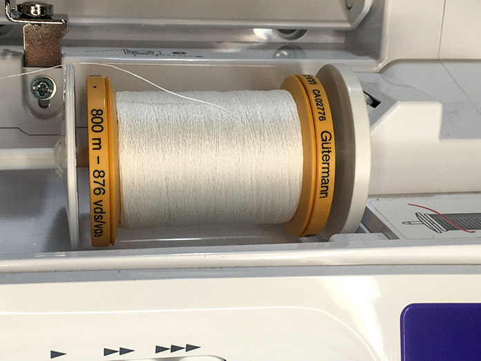 Gütermann 100% natural cotton thread is made with the finest, long-staple cotton and is strong with a silk-like lustre. Suitable for both hand and machine sewing. Ideal for piecing and embroidery work.