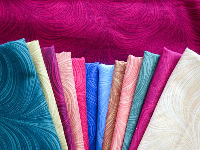 Wave Texture fabric collection from Benartex, colorful and exciting!