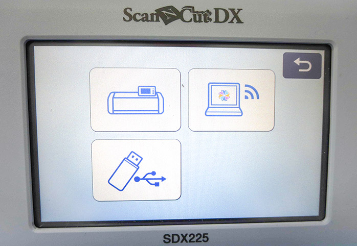 3 places to save your design: Scan N Cut SDX225, computer or USB stick, Brother ScanNCut SDX225, Brother scanning mat, Brother stencil sheet, Brother hook and spatula set