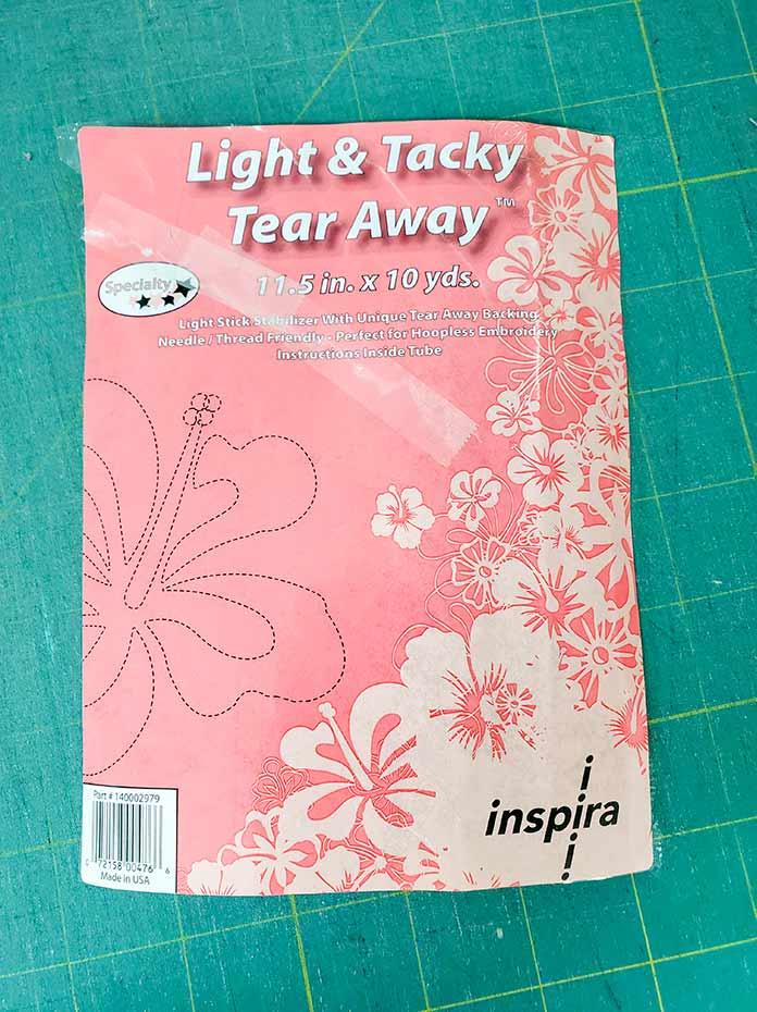 Inspira Light & Tacky Tear Away Stabilizer
